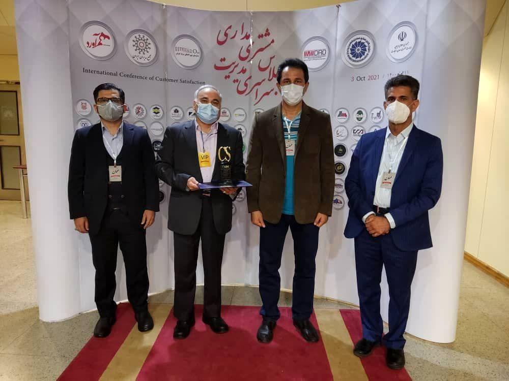 از مدیرعامل شرکت فولاد خوزستان تقدیر شد