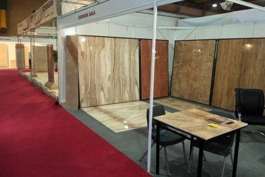 ۵۰۰ شرکت داخلی و خارجی در سیزدهمین نمایشگاه سنگ محلات حضور دارند