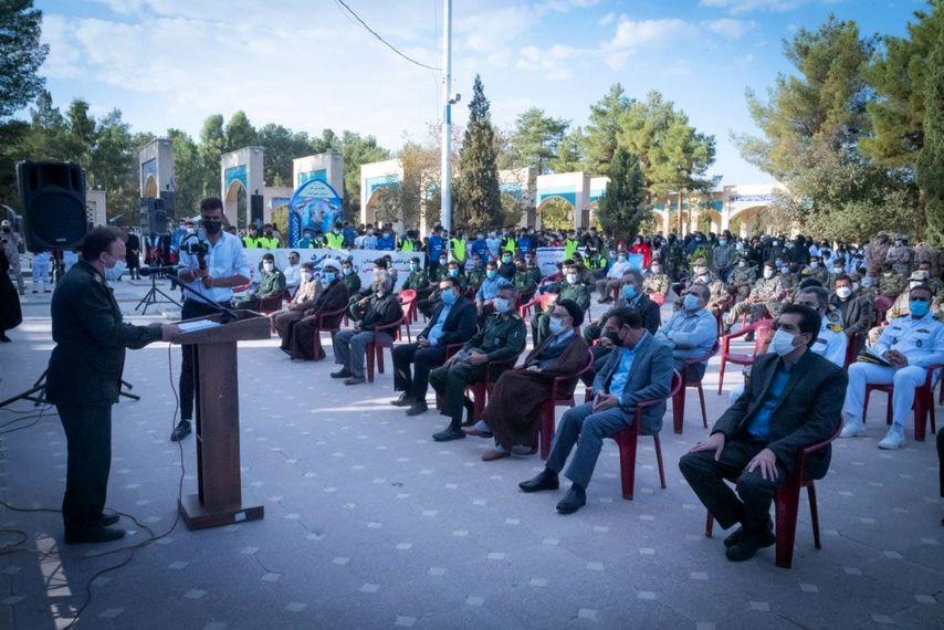 آیین گرامیداشت هفته دفاع مقدس و غبارروبی قبور شهدا برگزار شد