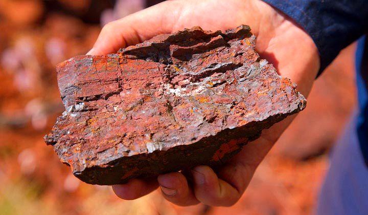 سنگ آهن تا اواخر سال 2021 در استرالیا  به 150 دلار میرسد