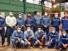 قاب خاطره (کارکنان تلاشگر واحد کولر شاپ و اتوماسیون ابزار دقیق)فولاد خوزستان